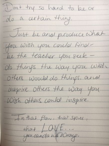 Inspire note